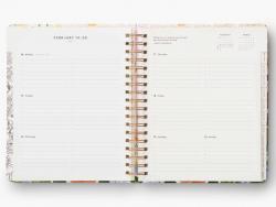 Acheter Agenda Marguerite aout 2021 à décembre 2022 - planner à spirales - 21 x 26 cm - Rifle Paper Co. - 37,99€ en ligne su...