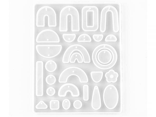 Acheter Moule en silicone - petites formes abstraites pour création de bijoux - 9,99€ en ligne sur La Petite Epicerie - Lois...