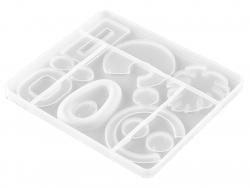 Acheter Moule en silicone - formes géométriques pour création de bijoux - 5,49€ en ligne sur La Petite Epicerie - Loisirs cr...