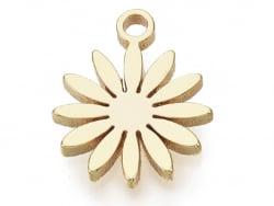 Acheter Pendentif mini paquerette - doré à l'or fin - 1,19€ en ligne sur La Petite Epicerie - Loisirs créatifs