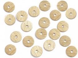 Acheter 20 intercalaires heishi ultra-fins - 6 mm - doré - 1,29€ en ligne sur La Petite Epicerie - Loisirs créatifs