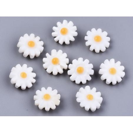 Acheter Perle paquerette en nacre véritable - 10 mm - 1,99€ en ligne sur La Petite Epicerie - Loisirs créatifs
