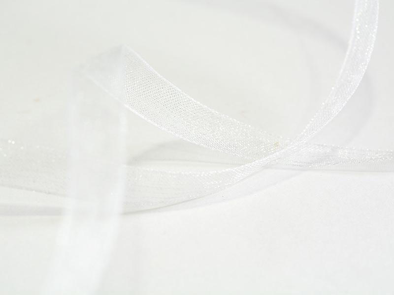 Acheter 1 m de ruban organza 6 mm - blanc - 0,39€ en ligne sur La Petite Epicerie - Loisirs créatifs
