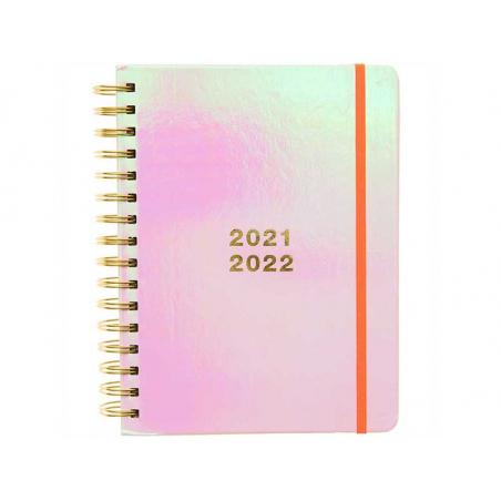 Acheter Agenda académique 17 mois, aout 2021 à décembre 2022 - iridescent / irisé - 26,99€ en ligne sur La Petite Epicerie -...
