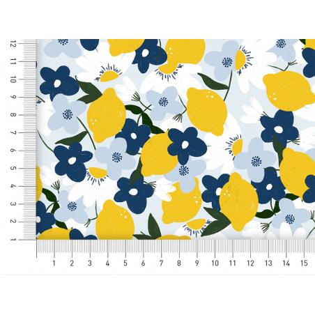 Acheter Tissu viscose – Fruits citrons - Exclusivité La Petite Epicerie - 1,99€ en ligne sur La Petite Epicerie - Loisirs cr...