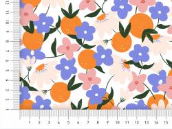 Acheter Tissu viscose – Fruits clémentines - Exclusivité La Petite Epicerie - 1,99€ en ligne sur La Petite Epicerie - Loisir...
