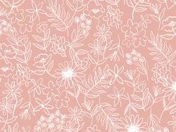 Acheter Tissu viscose – Fleurs des champs rose - Exclusivité La Petite Epicerie - 1,99€ en ligne sur La Petite Epicerie - Lo...