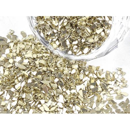 Acheter 10 grammes de fragments / décorations dorées - 1,99€ en ligne sur La Petite Epicerie - Loisirs créatifs
