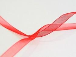 Acheter 1 m de ruban organza 6 mm - rouge - 0,39€ en ligne sur La Petite Epicerie - 100% Loisirs créatifs