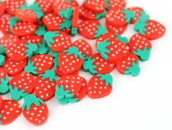 Acheter Tranches de canes en pâte polymère - grosse fraise - 10 grammes - 1,99€ en ligne sur La Petite Epicerie - Loisirs cr...