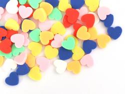 Acheter Confettis en pâte polymère - gros coeurs couleur vive - 10 grammes - 1,99€ en ligne sur La Petite Epicerie - Loisirs...