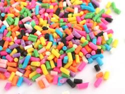 Acheter Faux vermicelles couleurs vives pour pâte fimo ou résine. - 1,99€ en ligne sur La Petite Epicerie - Loisirs créatifs