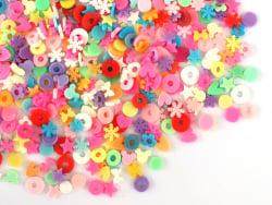 Acheter Confettis en pâte polymère -formes et couleurs variées - 10 grammes - 1,99€ en ligne sur La Petite Epicerie - Loisir...