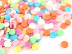 Acheter Confettis ronds en pâte polymère - couleurs vives - 10 grammes - 1,99€ en ligne sur La Petite Epicerie - Loisirs cré...