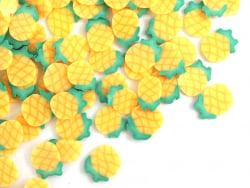 Acheter Tranches de canes en pâte polymère - ananas - 10 grammes - 1,99€ en ligne sur La Petite Epicerie - Loisirs créatifs