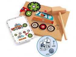 Acheter Jeu de construction éducatif - Tap Tap - Tap tap véhicules - 27,99€ en ligne sur La Petite Epicerie - Loisirs créatifs