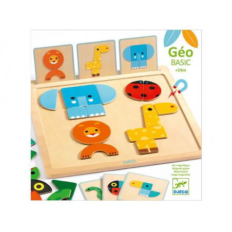 Acheter Jeu d'éveil magnétique - GeoBasic - 19,99€ en ligne sur La Petite Epicerie - Loisirs créatifs