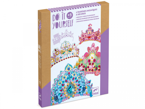 Acheter Coffret DIY - Mosaïques & Stickers - Comme une princesse - 9,99€ en ligne sur La Petite Epicerie - Loisirs créatifs