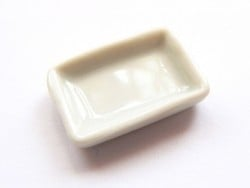 Assiette rectangulaire