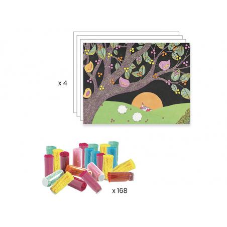 Acheter Collages des petits - Explosion de pompons - 21,99€ en ligne sur La Petite Epicerie - Loisirs créatifs
