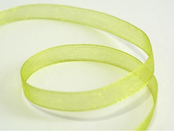 Acheter 1 m de ruban organza 6 mm - vert amande - 0,39€ en ligne sur La Petite Epicerie - Loisirs créatifs