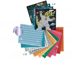 Acheter Coffret collage de mosaïque - Space battle - 13,99€ en ligne sur La Petite Epicerie - Loisirs créatifs