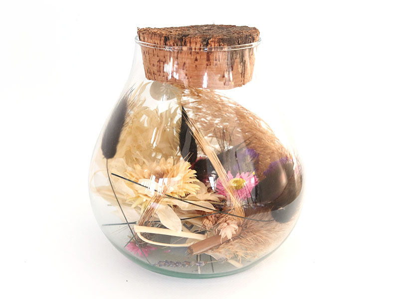 Acheter Jarre de fleurs séchées - 27,99€ en ligne sur La Petite Epicerie - Loisirs créatifs