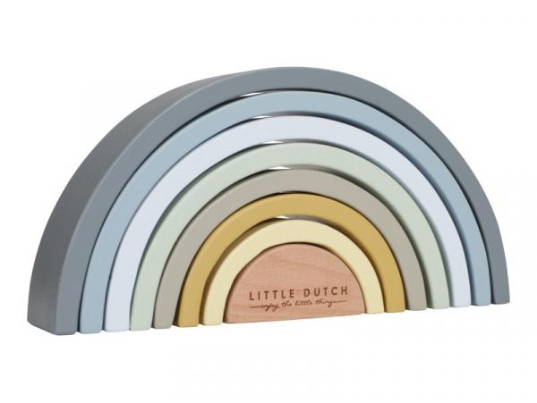 Acheter Arc en ciel en bois - bleu - Little Dutch - 24,99€ en ligne sur La Petite Epicerie - Loisirs créatifs