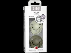 Acheter Lot de 2 tétines Bibs De Lux Taille unique - Vert sauge & kaki - 13,99€ en ligne sur La Petite Epicerie - Loisirs cr...