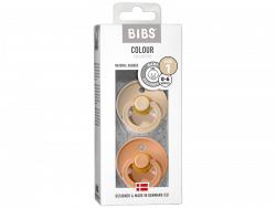 Acheter Lot de 2 tétines Bibs Colour T1 - Pêche & vanille - 9,99€ en ligne sur La Petite Epicerie - Loisirs créatifs