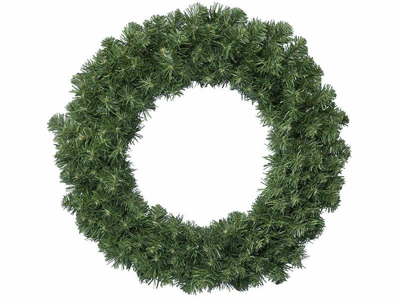 Acheter Couronne de Noël - sapin artificiel - 35 cm - 7,99€ en ligne sur La Petite Epicerie - Loisirs créatifs