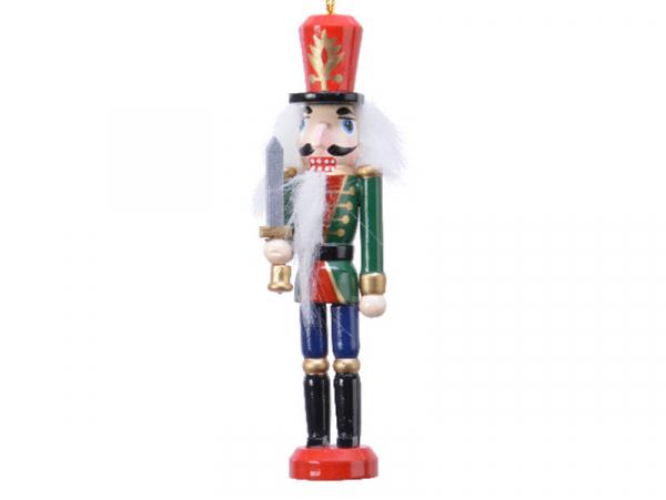 Acheter Casse noisette en bois à chapeau rouge - socle rouge - 12,5 cm - 4,99€ en ligne sur La Petite Epicerie - Loisirs cré...