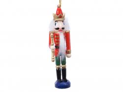 Acheter Casse noisette en bois à chapeau rouge - socle bleu - 12,5 cm - 4,99€ en ligne sur La Petite Epicerie - Loisirs créa...