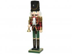 Acheter Casse-noisette en bois - rouge et vert - 38 cm - 24,99€ en ligne sur La Petite Epicerie - Loisirs créatifs