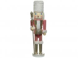 Acheter Grand casse noisette - rose avec chapeau blanc - 38 cm - 24,99€ en ligne sur La Petite Epicerie - Loisirs créatifs