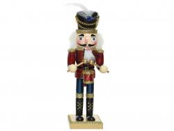 Acheter Casse noisette en bois - chapeau à plume - 50 cm - 34,99€ en ligne sur La Petite Epicerie - Loisirs créatifs