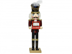 Acheter Casse noisette en bois - chapeau à plume - 38 cm - 24,99€ en ligne sur La Petite Epicerie - Loisirs créatifs