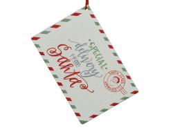 Acheter Décoration de Noël - lettre au père Noël - blanc - 3,29€ en ligne sur La Petite Epicerie - Loisirs créatifs