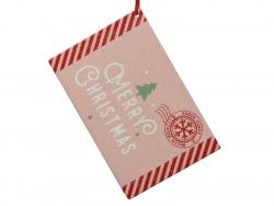 Acheter Décoration de Noël - lettre au père Noël - rose - 3,29€ en ligne sur La Petite Epicerie - Loisirs créatifs