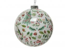 Acheter Boule de Noël - motifs traditionnels de Noël ultra fins - 8 cm - 2,49€ en ligne sur La Petite Epicerie - Loisirs cré...