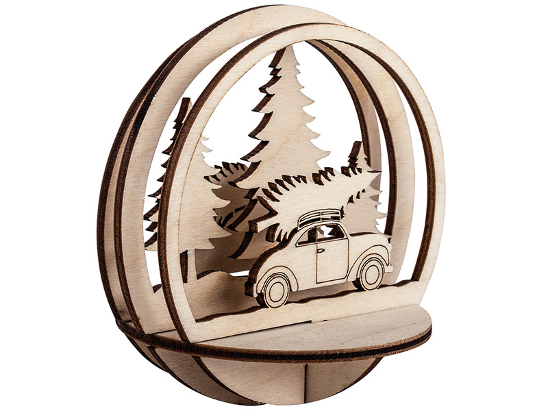 Acheter Pièces en bois à insérer dans une boule de Noël - Voiture - 9,5cm - 3,69€ en ligne sur La Petite Epicerie - Loisirs ...