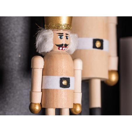 Acheter Casse-noisette en bois naturel à peindre - 20 cm - 6,29€ en ligne sur La Petite Epicerie - Loisirs créatifs