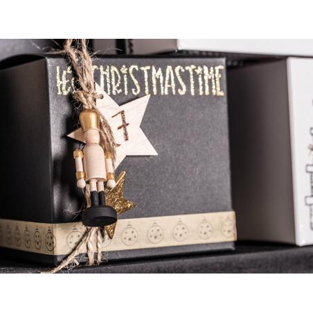 Acheter 3 casse-noisettes en bois à peindre - 5,5 cm - 4,99€ en ligne sur La Petite Epicerie - Loisirs créatifs