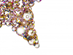 Acheter 2 suspensions décoratives pour le sapin - étoiles à paillettes multicolores - 1,99€ en ligne sur La Petite Epicerie ...