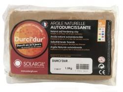 Acheter Durci'dur couleur marron chocolat - Argile naturelle autodurcissante - 7,99€ en ligne sur La Petite Epicerie - Loisi...