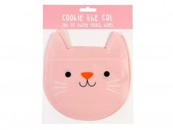 """Acheter Sac à collation en forme de chat rose """"cookie the cat"""" - 4,19€ en ligne sur La Petite Epicerie - Loisirs créatifs"""