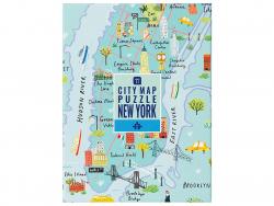 Acheter Puzzle plan de New york illustré - 250 pièces - 14,99€ en ligne sur La Petite Epicerie - Loisirs créatifs