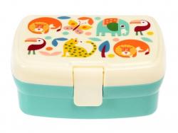 Acheter Lunchbox avec plateau animaux de la savane Wild Wonders - 8,49€ en ligne sur La Petite Epicerie - Loisirs créatifs