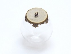 1 pendant for 14 m balls - bronze-coloured, 14 mm opening