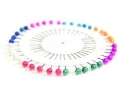 Acheter Assortiment de 40 jolies épingles colorées - 1,59€ en ligne sur La Petite Epicerie - 100% Loisirs créatifs